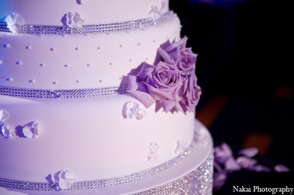 Indian wedding cake in Chicago, Illinois Pakistani Fusion Wedding by Nakai Photography