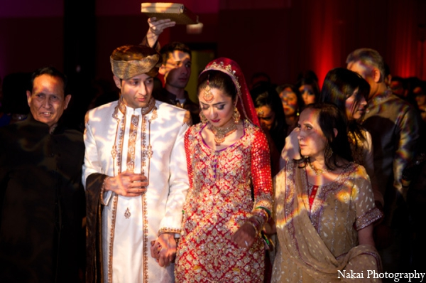 Indian wedding ceremony customs traditions in Chicago, Illinois Pakistani Fusion Wedding by Nakai Photography