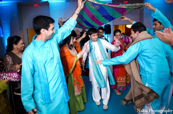 Indian wedding ceremony customs in Chicago, Illinois Pakistani Fusion Wedding by Nakai Photography