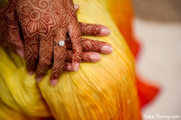 Indian wedding mehndi designs in Chicago, Illinois Pakistani Fusion Wedding by Nakai Photography
