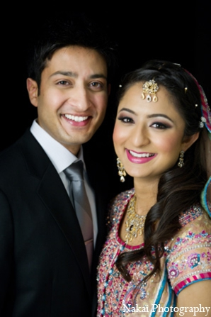Indian wedding portraits in Chicago, Illinois Pakistani Fusion Wedding by Nakai Photography