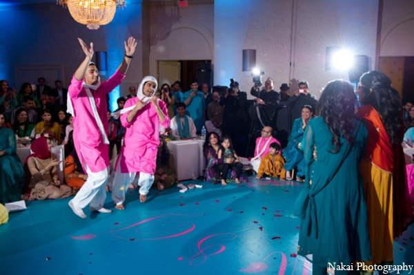 teal,hot pink,traditional indian wedding,indian wedding traditions,Nakai Photography