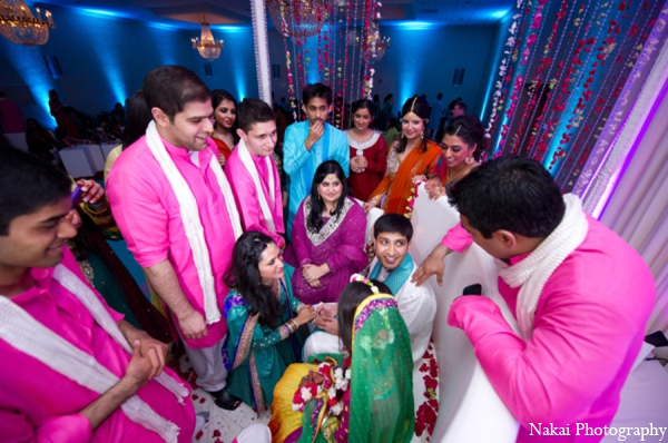 red,hot pink,yellow,green,traditional indian wedding,indian wedding traditions,Nakai Photography