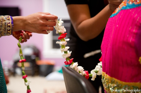 Traditional sangeet customs in Chicago, Illinois Pakistani Fusion Wedding by Nakai Photography