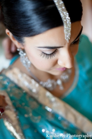 Indian Wedding Bridal Hair Accessories In Tampa Florida Stani By Kimberly Photography