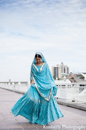 Indian wedding bridal lengha in Tampa, Florida Pakistani Wedding by Kimberly Photography