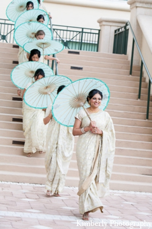 Indian wedding bridal party in Tampa, Florida Pakistani Wedding by Kimberly Photography