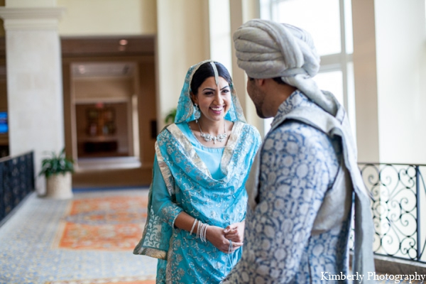 Indian wedding bride groom photo in Tampa, Florida Pakistani Wedding by Kimberly Photography