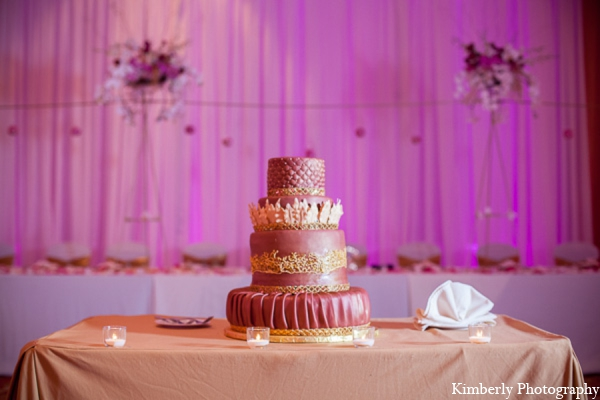 Indian wedding cake in Tampa, Florida Pakistani Wedding by Kimberly Photography