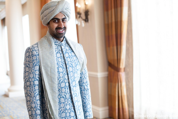 Indian wedding groom outfit in Tampa, Florida Pakistani Wedding by Kimberly Photography