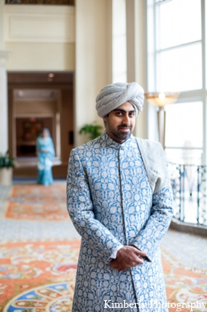 Indian wedding groom sherwani in Tampa, Florida Pakistani Wedding by Kimberly Photography