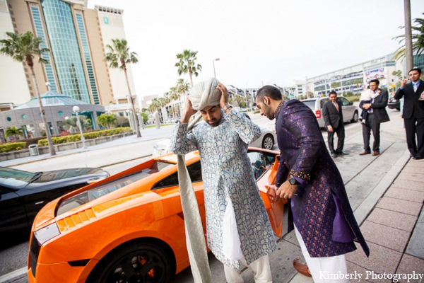 Indian wedding groom traditional sherwani in Tampa, Florida Pakistani Wedding by Kimberly Photography