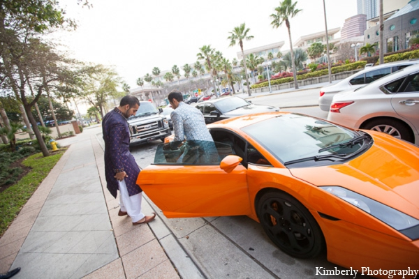 Indian wedding groom transportation in Tampa, Florida Pakistani Wedding by Kimberly Photography