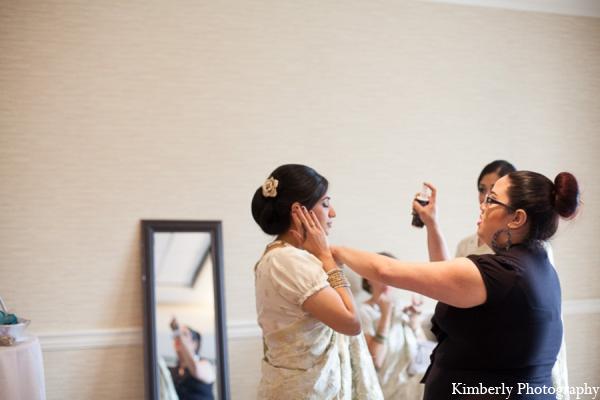 Indian wedding hair makeup in Tampa, Florida Pakistani Wedding by Kimberly Photography
