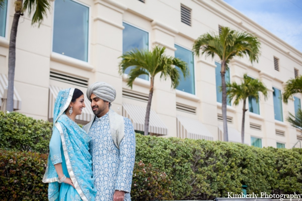 Indian wedding outdoor portraits in Tampa, Florida Pakistani Wedding by Kimberly Photography