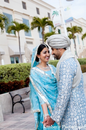 Indian wedding photo bride groom in Tampa, Florida Pakistani Wedding by Kimberly Photography