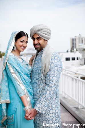 Indian wedding photos bride groom in Tampa, Florida Pakistani Wedding by Kimberly Photography