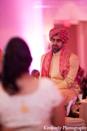 Indian wedding reception groom outfit in Tampa, Florida Pakistani Wedding by Kimberly Photography
