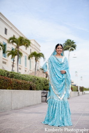 Indian wedding traditional bridal lengha in Tampa, Florida Pakistani Wedding by Kimberly Photography