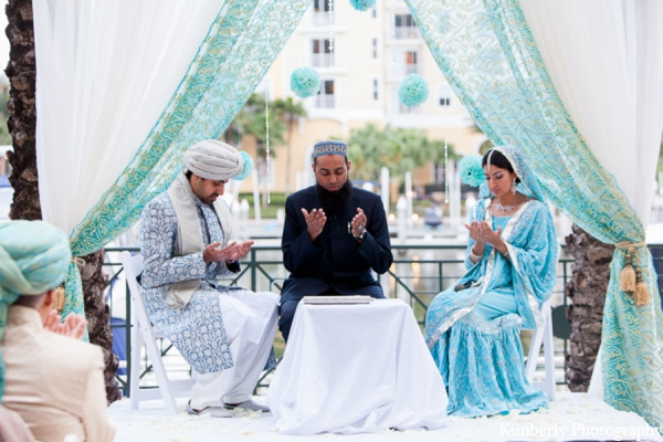 Pakistani wedding bride groom in Tampa, Florida Pakistani Wedding by Kimberly Photography