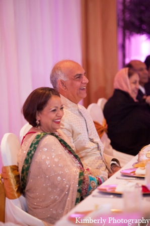 Pakistani wedding brides parents in Tampa, Florida Pakistani Wedding by Kimberly Photography