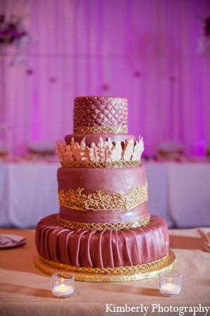 Pakistani wedding cake in Tampa, Florida Pakistani Wedding by Kimberly Photography
