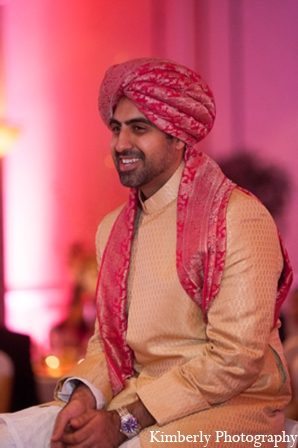 Pakistani wedding groom sherwani in Tampa, Florida Pakistani Wedding by Kimberly Photography