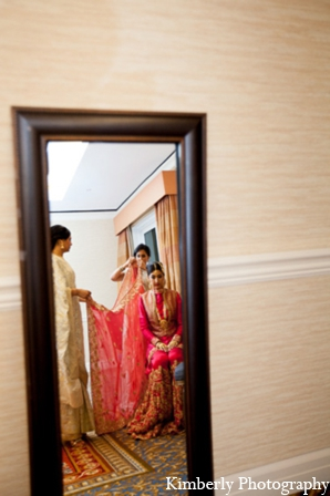Pakistani wedding reception outfit in Tampa, Florida Pakistani Wedding by Kimberly Photography