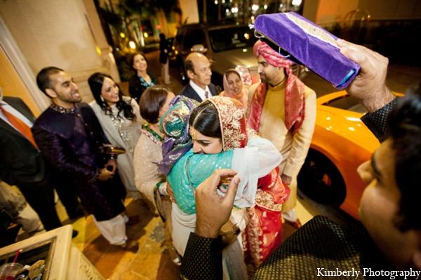 Pakistani wedding tradition transportation in Tampa, Florida Pakistani Wedding by Kimberly Photography