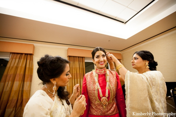 Traditional pakistani bridal outfit in Tampa, Florida Pakistani Wedding by Kimberly Photography