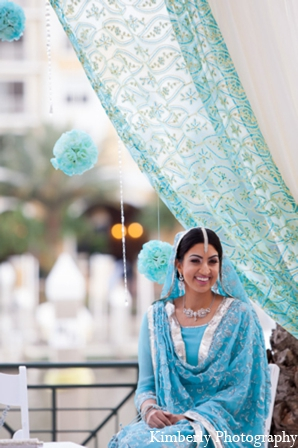 Traditional pakistani bride in Tampa, Florida Pakistani Wedding by Kimberly Photography