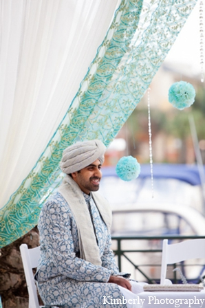 Traditional pakistani groom in Tampa, Florida Pakistani Wedding by Kimberly Photography