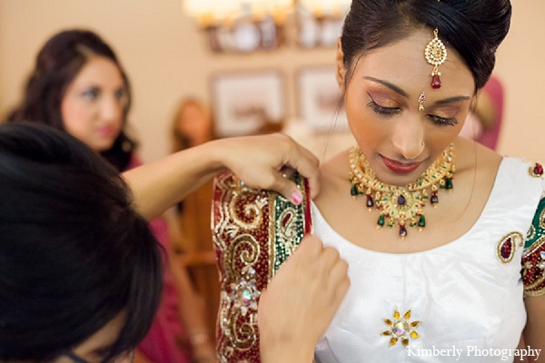 Indian wedding bridal fashion jewelry in Palm Harbor, Florida Indian Wedding by Kimberly Photography