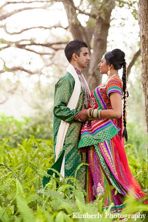 Indian wedding portraits garba bride groom in Palm Harbor, Florida Indian Wedding by Kimberly Photography