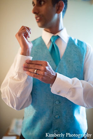 Indian wedding reception groom attire in Palm Harbor, Florida Indian Wedding by Kimberly Photography