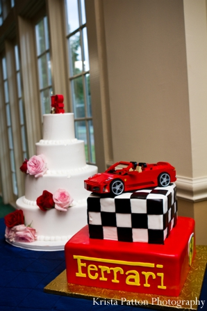 Indian wedding bridal groom cakes
