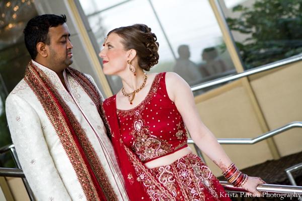 Indian wedding bridal groom portrait traditional