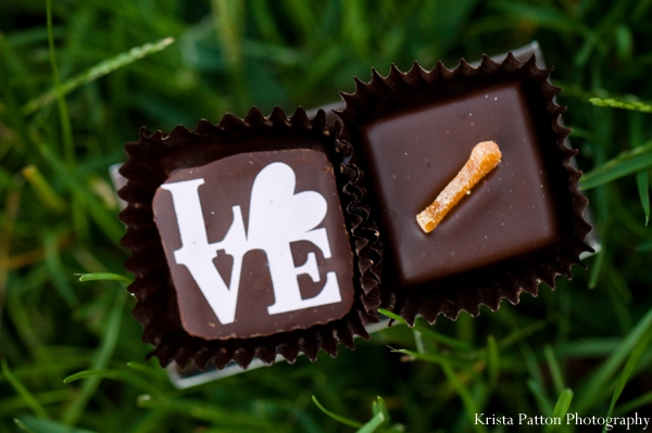 Indian wedding chocolate favors inspiration ideas