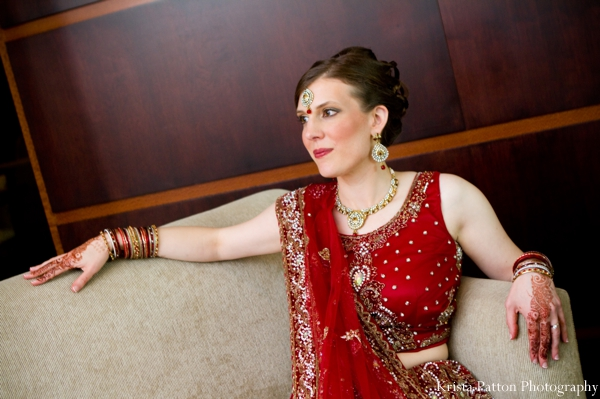 Indian wedding fusion bride bridal portrait