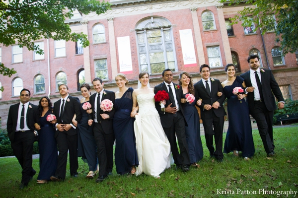 Indian wedding fusion bride groom portraits