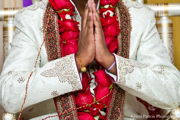 Indian wedding groom traditional ceremony