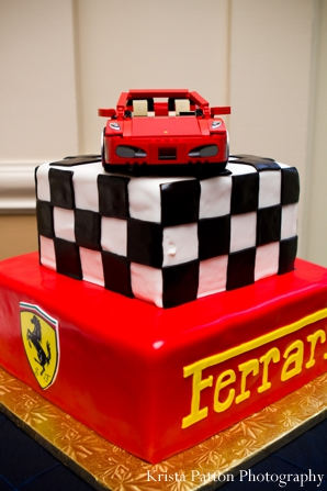 Indian Wedding Grooms Cake Ferrari Theme Maharani Weddings