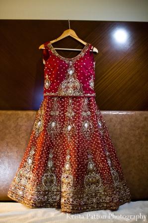 Indian wedding lengha traditional style embellished