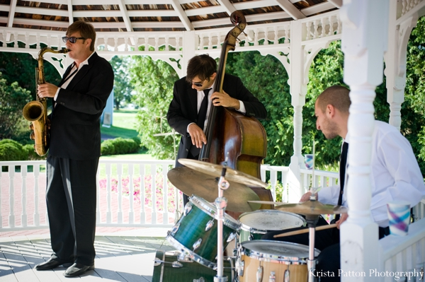 Indian wedding reception music band entertainment