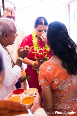Indian wedding tradition bride ceremony