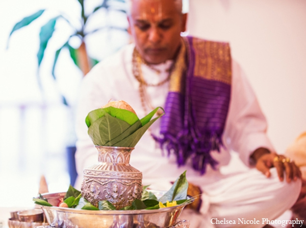 Indian wedding tradition ceremony blessing