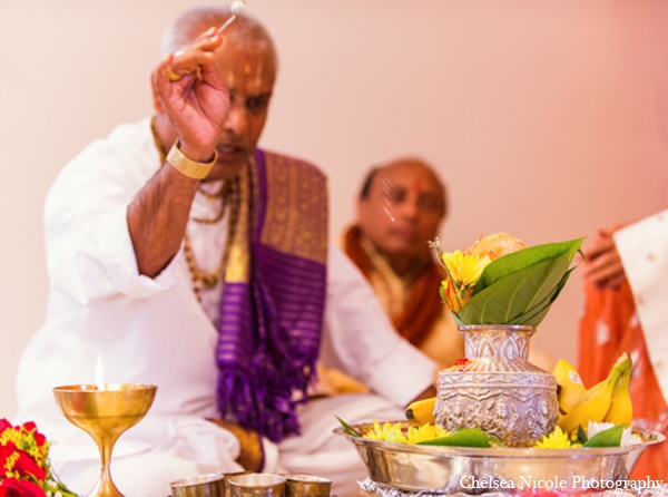 Indian wedding tradition ceremony pandit