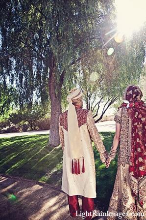 Indian bride groom wedding portraits in Phoenix, Arizona Indian Wedding by LightRain Images