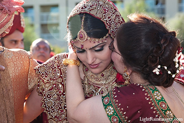 Indian bride photography ceremony fashion in Phoenix, Arizona Indian Wedding by LightRain Images