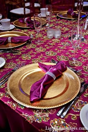 Indian wedding arrangements decor table in Phoenix, Arizona Indian Wedding by LightRain Images